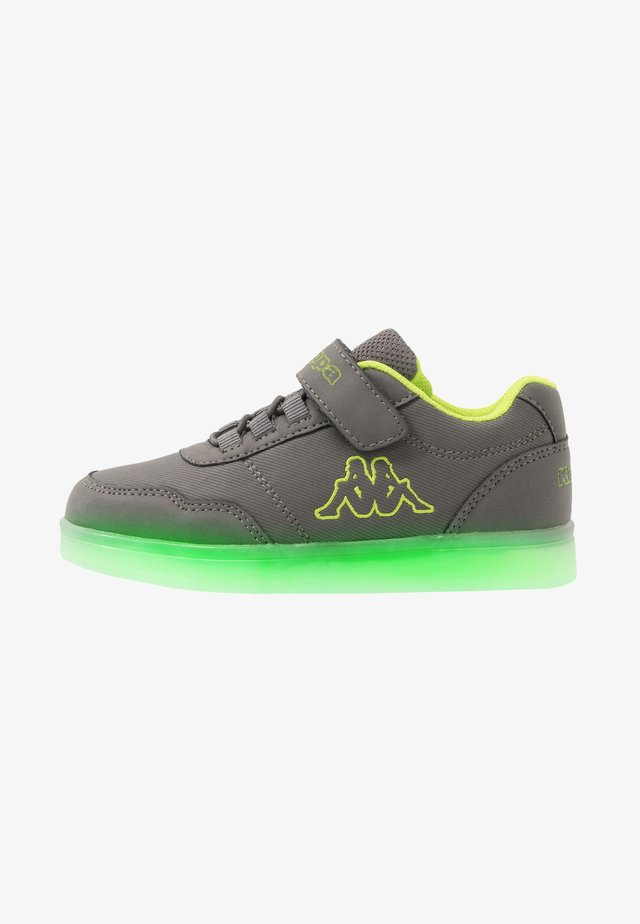 RENDON - Scarpe da fitness - grey/lime