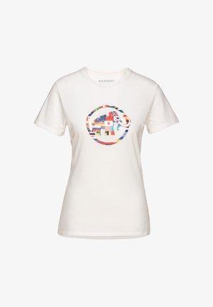 NATIONS - T-Shirt print - bright white