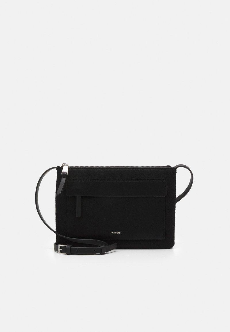 PARFOIS - CROSSBODY BAG CONFETTI - Across body bag - black