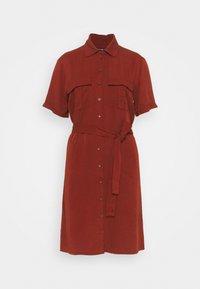 Zign - Shirt dress - dark red - 4