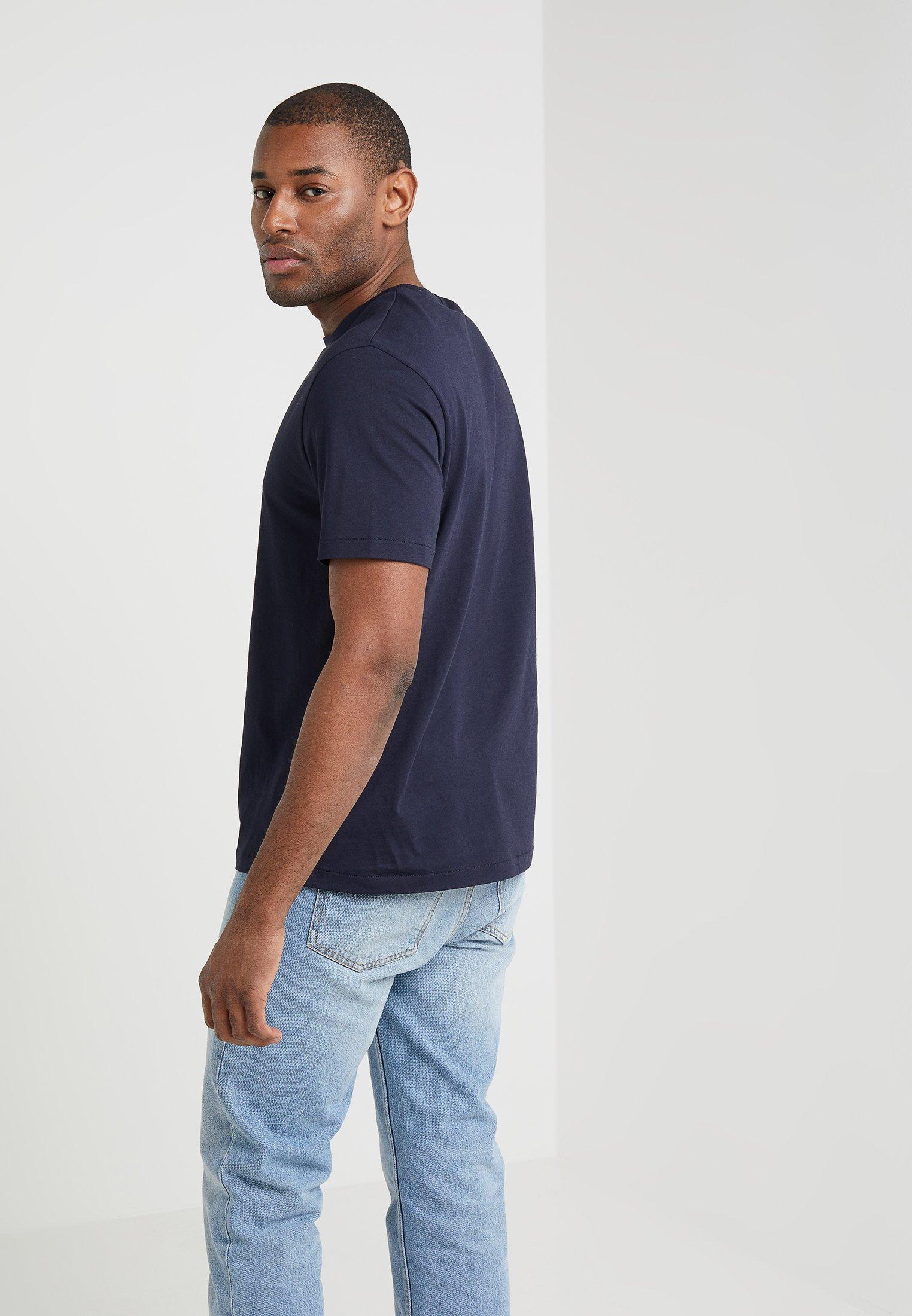 Filippa K SINGLE CLASSIC TEE - Basic T-shirt - navy uhM6Z