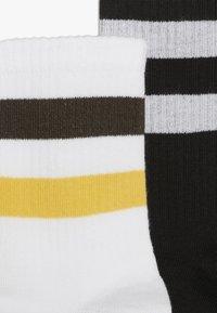 D-XEL - 2 PACK - Sukat - black/white/yellow - 3