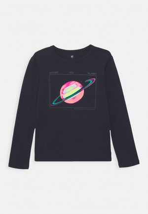BOY  - Long sleeved top - navy