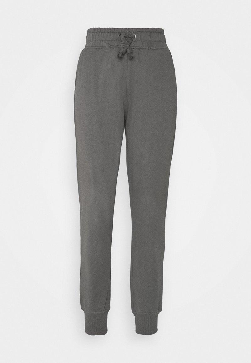 NA-KD - LOGO BASIC - Tracksuit bottoms - grey