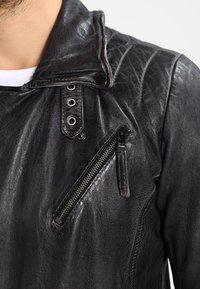 Freaky Nation - SWAGGER - Leather jacket - black - 5