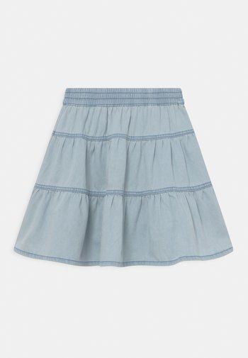Denim skirt - faded denim