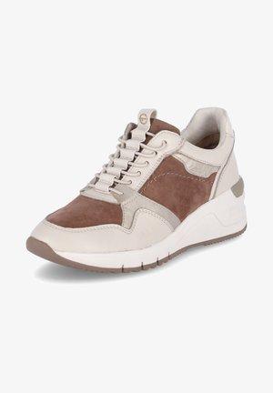 Sneakers laag - taupe / kombi