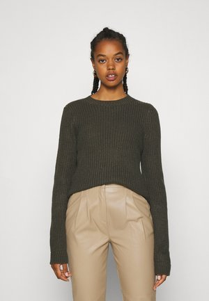 VMZALEA NECK - Jumper - peat