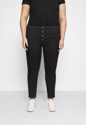 CARAUGUSTA BUTTON - Jeans Skinny Fit - black