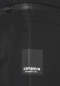 Icepeak - EAGARVILLE - Hardshellová bunda - dark green - 5