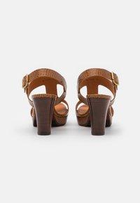Chie Mihara - EDA - Platform sandals - nilo ocre - 3