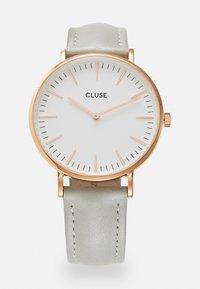 Cluse - BOHO CHIC - Hodinky - rose gold-coloured/white/grey - 0