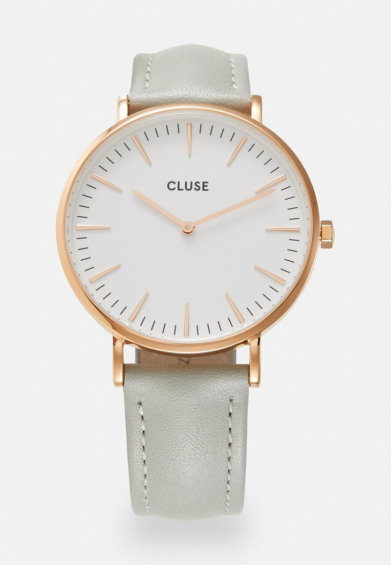Cluse - BOHO CHIC - Hodinky - rose gold-coloured/white/grey