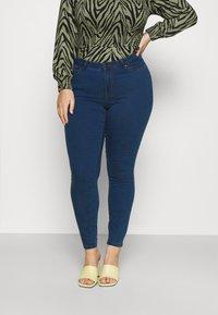Vero Moda Curve - VMLUDY - Slim fit jeans - blue denim - 0