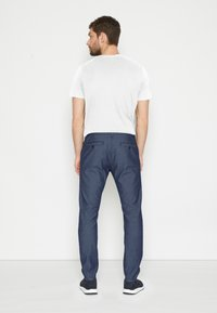TOM TAILOR - STRUCTURE - Chinos - blue two tone - 3