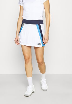SKORT LINA - Sports skirt - white
