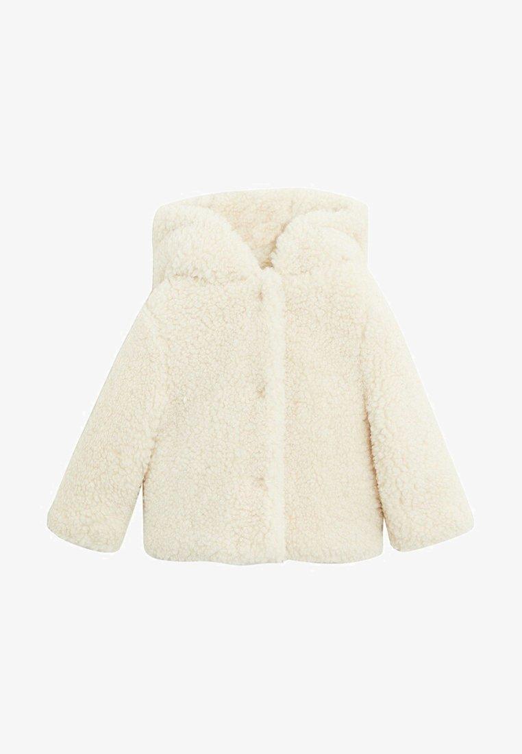 Mango - SUSIB - Winter jacket - šedobílá
