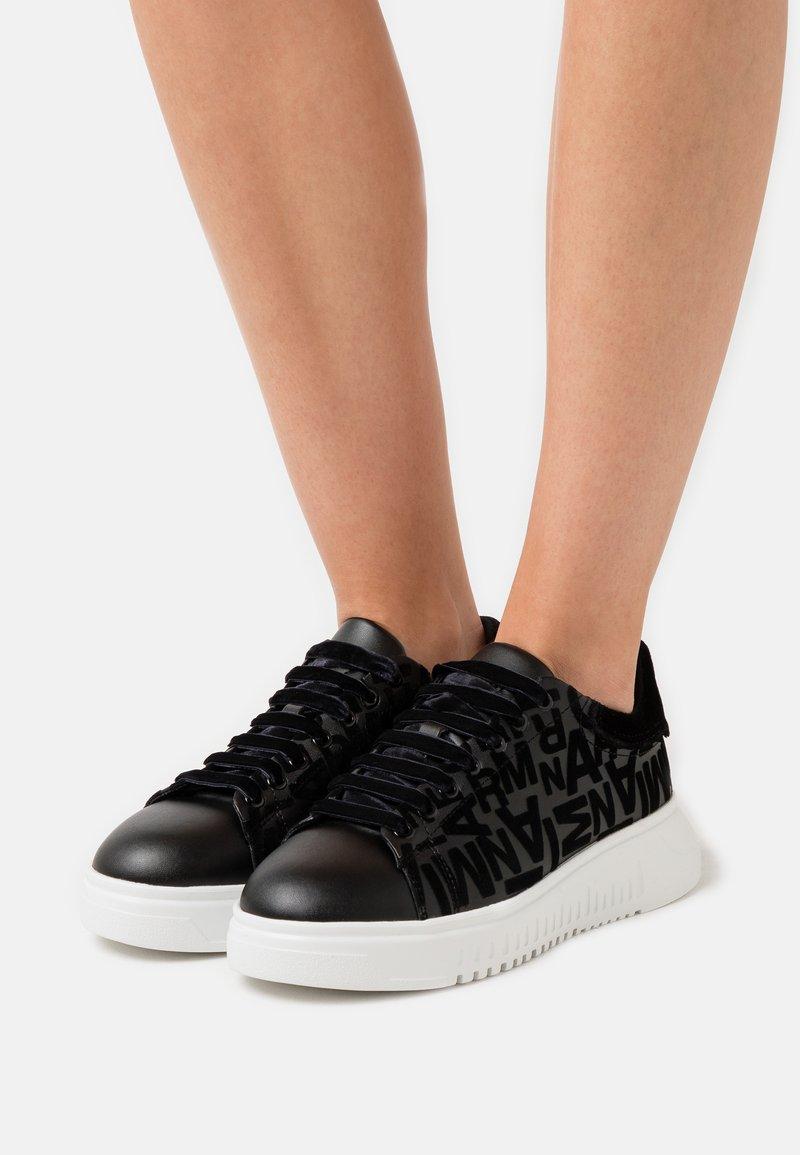 Emporio Armani - Zapatillas - black