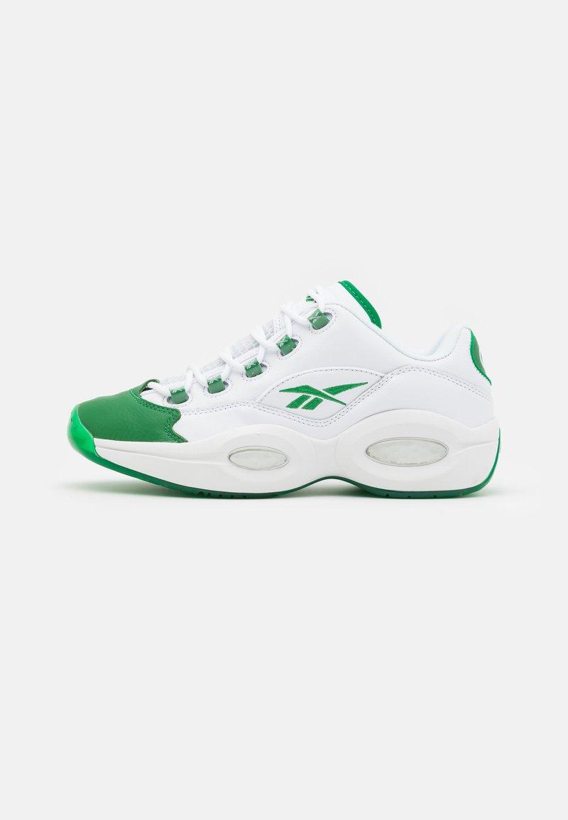 Reebok Classic - QUESTION LOW - Sneakers laag - glen green/footwear white