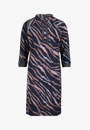 Day dress - dunkelblau/grau