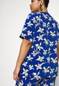 Persona by Marina Rinaldi - BARONE - Print T-shirt - bluette - 5