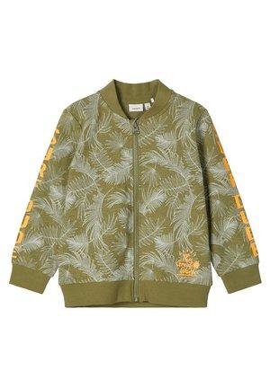 Zip-up hoodie - loden green
