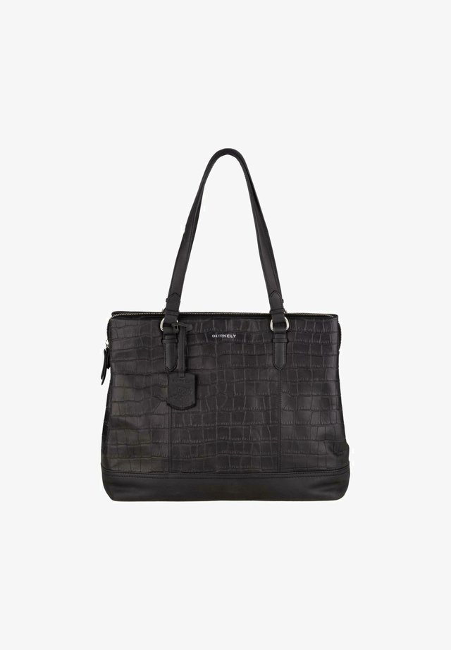 CROCO CAIA  - Handbag - black