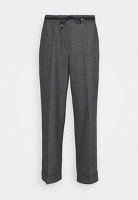 Opus - MANINA FRESH - Trousers - black - 0