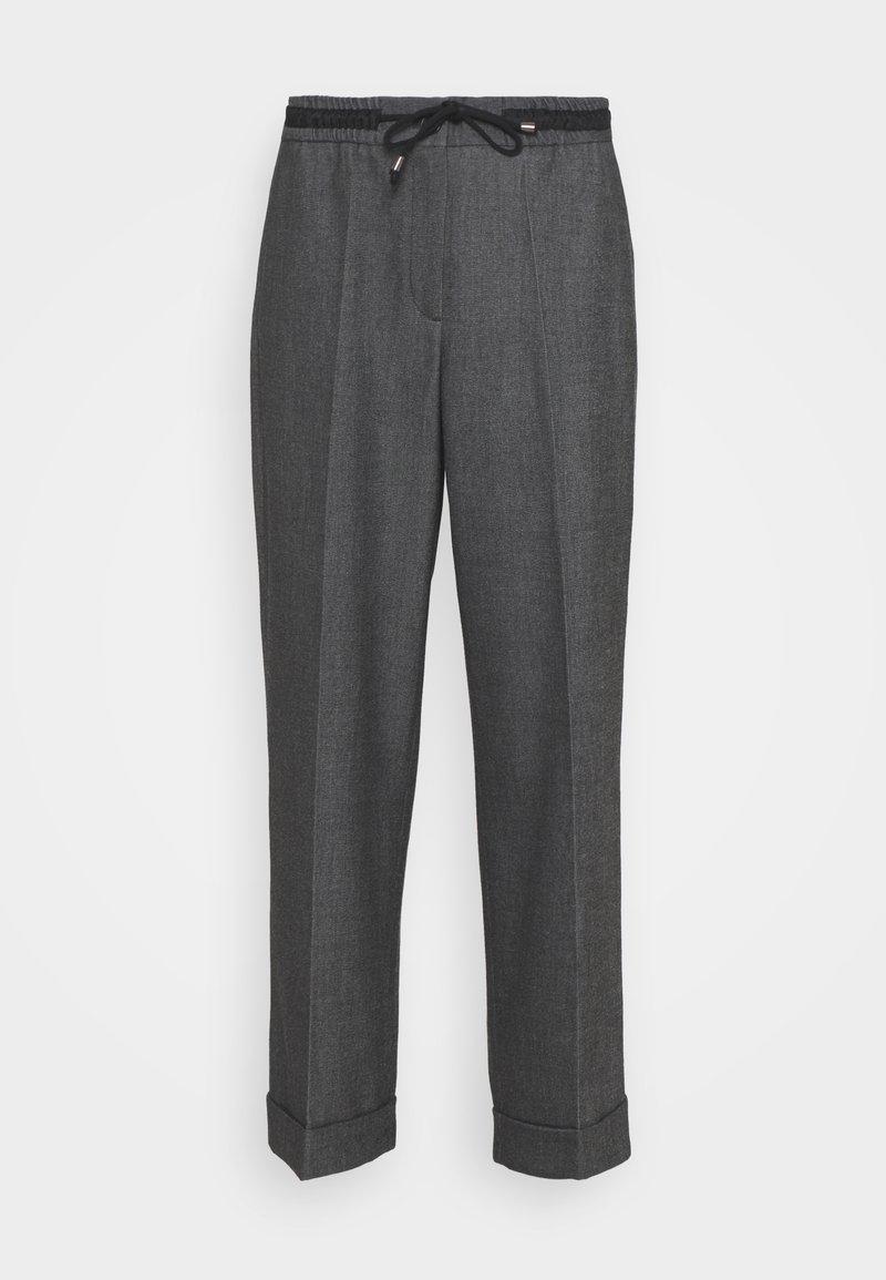 Opus - MANINA FRESH - Trousers - black