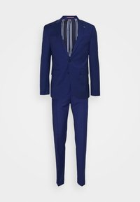 Tommy Hilfiger Tailored - FLEX STRIPE SLIM FIT SUIT SET - Oblek - blue - 8