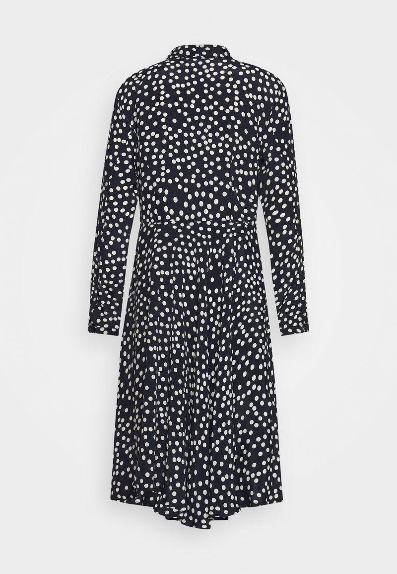 Danefæ København - PRIMEUR DRESS - Shirt dress - navy/beige