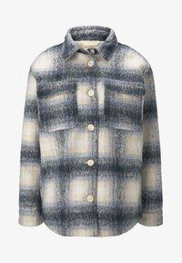 Light jacket - stone blue beige check