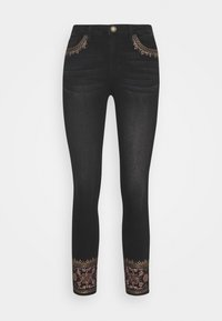Desigual - DENIM_FLOYER - Jeans slim fit - black denim - 4
