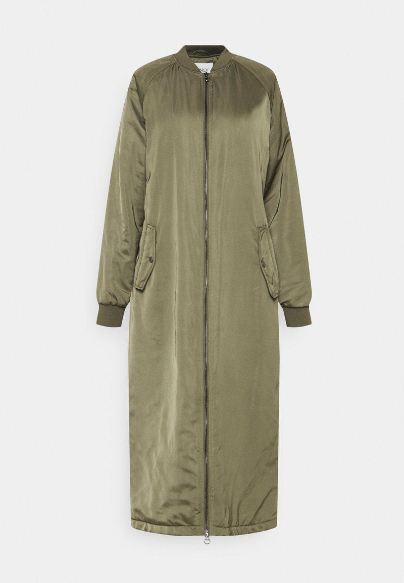 ONLY - ONLNATALIE LONG BOMBER - Klassinen takki - kalamata