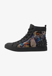 Steve Madden - CHAOS - Sneakersy wysokie - blue/multicolor - 0