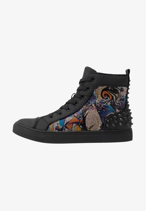 CHAOS - Sneakers alte - blue/multicolor