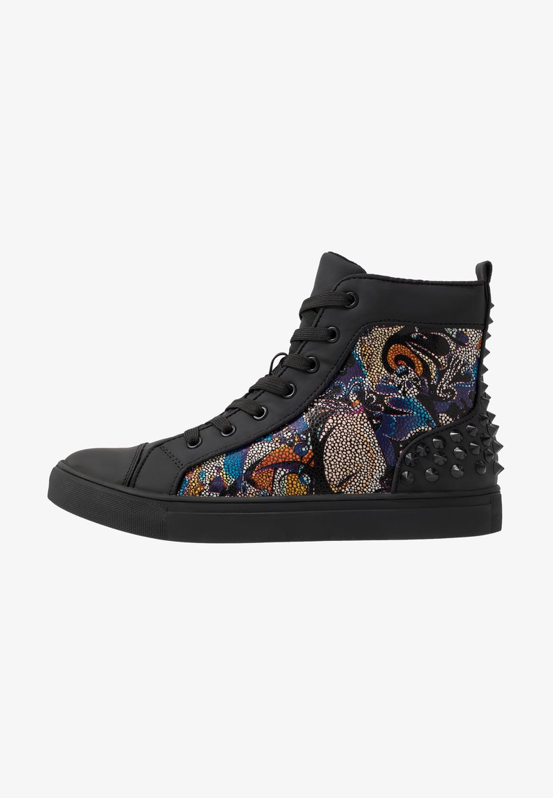Steve Madden - CHAOS - Sneakersy wysokie - blue/multicolor