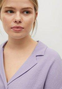Violeta by Mango - Button-down blouse - lilas - 3
