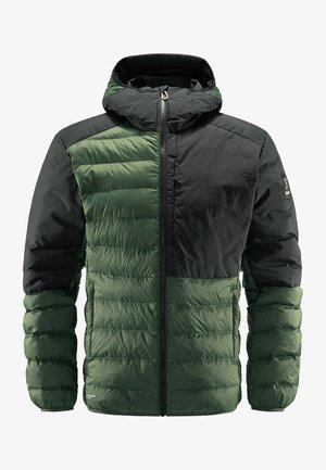 DALA MIMIC HOOD MEN - Winter jacket - fjell green/true black