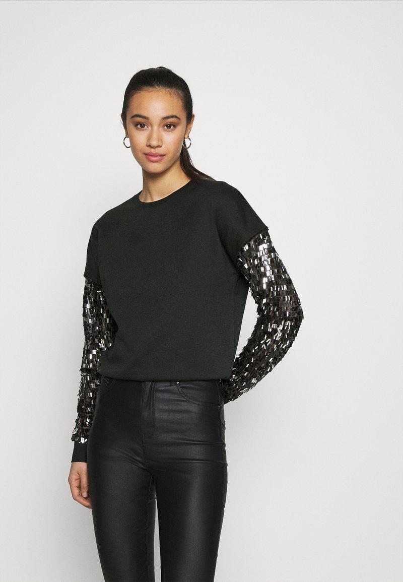 ONLY - ONLOLGA - Sweatshirt - black