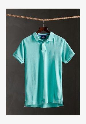 Polo shirt - pool blue