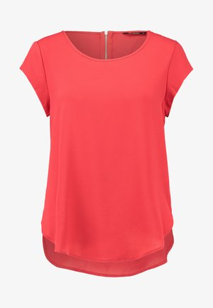 ONLVIC SOLID  TOP - Blouse - high risk red