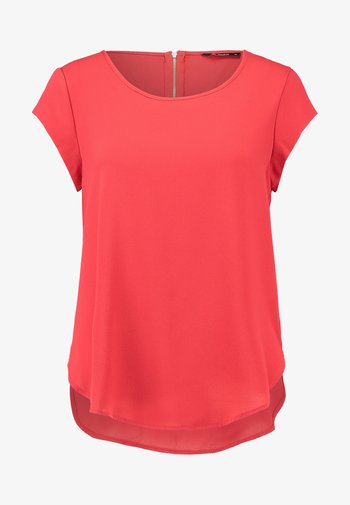 ONLVIC SOLID  - T-shirt - bas - high risk red