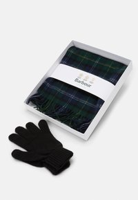 Barbour - TARTAN SCARF AND GLOVE GIFT SET UNISEX - Scarf - seaweed - 2