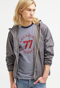 K-Way - CLAUDE UNISEX - Summer jacket - grey - 0