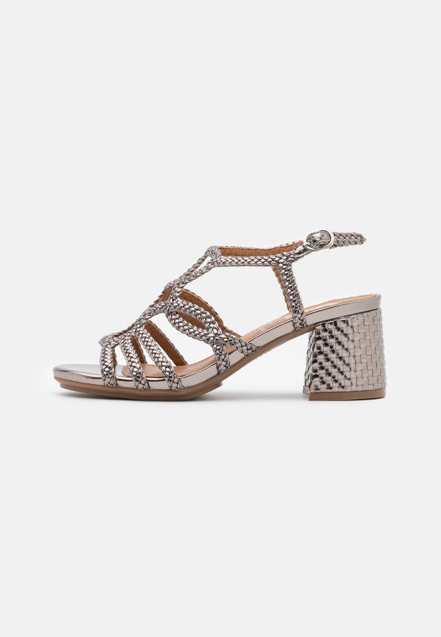 Sandals - silver/gray