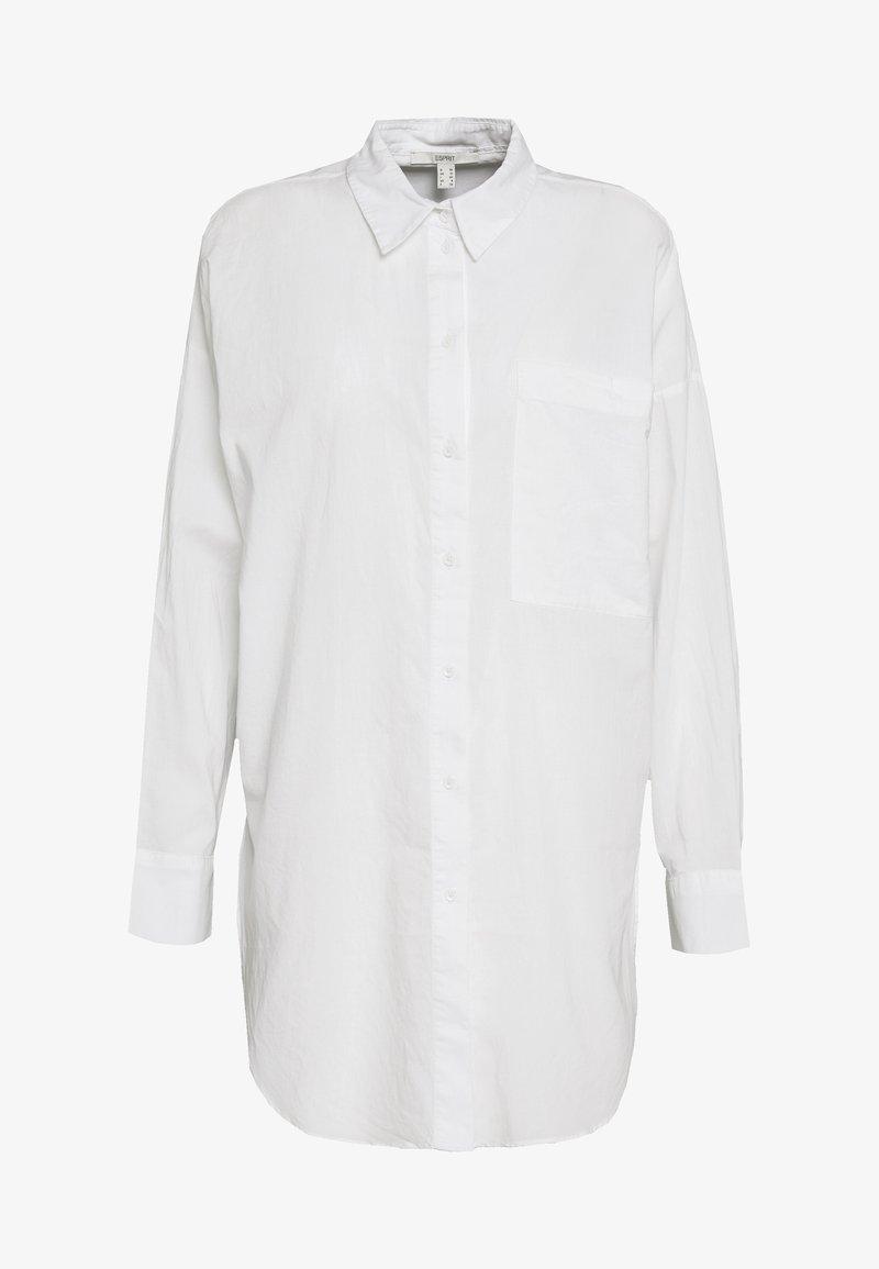 Esprit - PLAIN - Button-down blouse - white