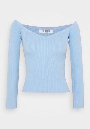 CHRISTY - Strickpullover - blue