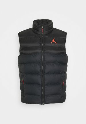 JUMPMAN AIR PUFFER VEST - Liivi - black/infrared