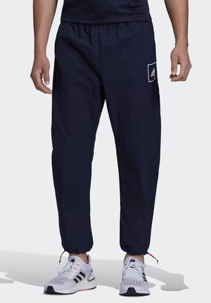 WOVEN TRACKSUIT BOTTOMS - Tracksuit bottoms - blue